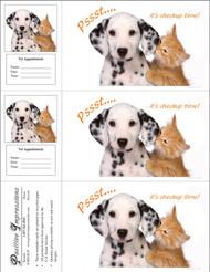 3CHECKUP - 3 Up Reminder Cards