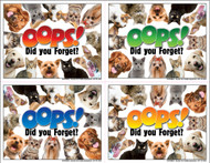 4OOPSMIX2 - 4 Up Reminder Cards