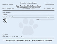 Veterinary Prescription Pads | Positive Impressions