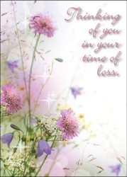 SYMFLOWER3 - Sympathy Card