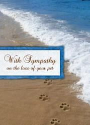 SYMSAND - Sympathy Card