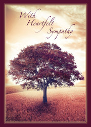 SYMTREE - Sympathy Card