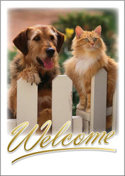 WELCOMEFENCE - Welcome Card