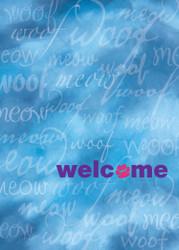 WELCOMEPAW - Welcome Card