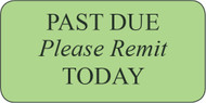 WCS-51 - Collection Labels - Past Due Please Remit Today