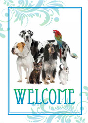 WELCOME5 - Welcome Card