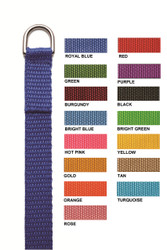 LEASH1 - 4 ft. Personalized D-Ring Leash
