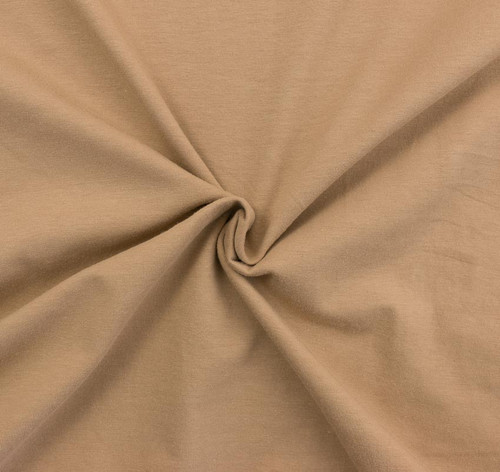 Khaki 10oz Knit Solid by Made Whimsy