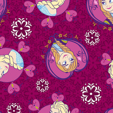 Disney Frozen Sisters Minky Fabric