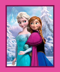 Disney Frozen Sisters Panel