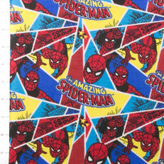 Spiderman Shards Flannel by Camelot