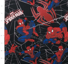 Ultimate Spiderman Spideys Web Black by Camelot
