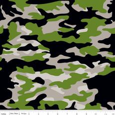 Military Camo Gray by Riley Blake