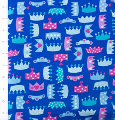 Princess Life Crowns Blue by Robert Kaufman
