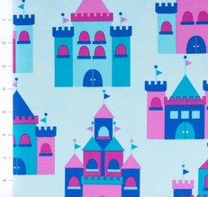 Princess Life Castles Blue by Robert Kaufman