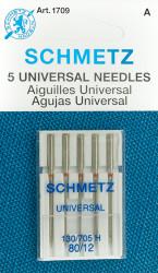 Schmetz Universal Machine Needles, 12/80