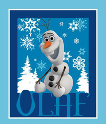 Frozen Olaf Panel by Springs Creative