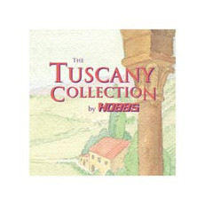 "Tuscany Bleach Cotton Batting Throw Size 60"" x 60"""