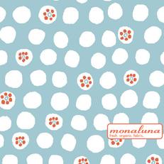 Organic Polka Dot Knit by Mona Luna