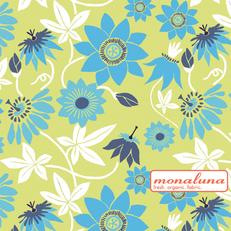 Organic Passion Flower Knit by Mona Luna