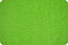 Terry Cloth Dark Lime by Shannon Fabrics