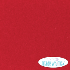 Knit Red 12oz Solid by Made Whimsy