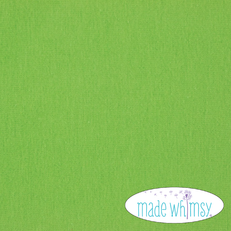 Knit Lime Solid by Made Whimsy