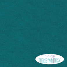 Knit Dark Teal 12oz Solid by Made Whimsy