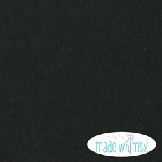 Knit Black 12oz Solid by Made Whimsy