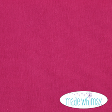 Knit Dark Fuchsia 12oz Solid by Made Whimsy