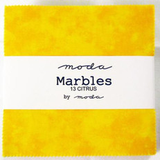 Moda Marbles Citrus Charm Pack