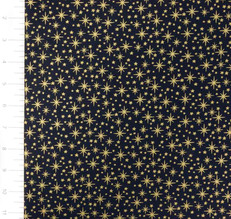 Metallic Stars on Blue by Andover