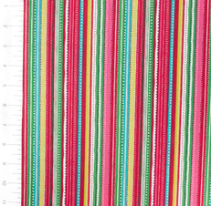 Festive Multi Stripe by Andover Fabric