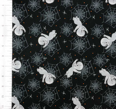 Creepy Cute Casper Spiderweb by Quilting Treasures