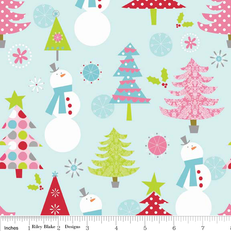 Christmas Main Blue by Riley Blake