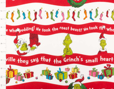 How the Grinch Stole Christmas Stripe by Robert Kaufman