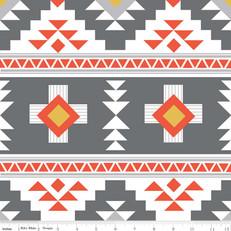 Four Corners Main Gray Knit by Riley Blake