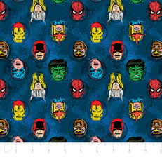 Marvel Comics Characters Blue by Camelot