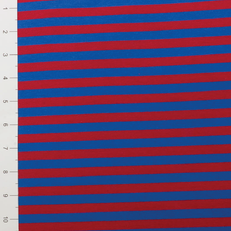 "3/8"" Royal & Red Yarn Dyed Stripe by Made Whimsy"