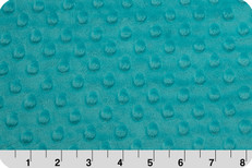 Cuddle Dimple Minky Teal by Shannon Fabrics