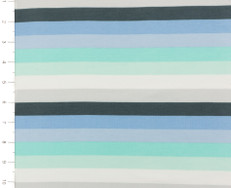 Discontinued Glacial Stripes Knit Fabric