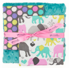 Elephant Walk Orchid DIY Blanket Bundle