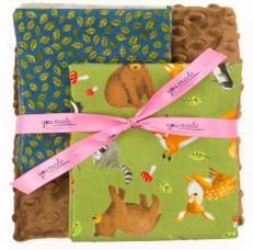 Forest Friends Blanket Bundle