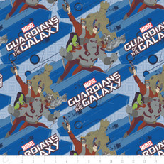 Guardians of the Galaxy Characters Royal by Camelot Fabrics