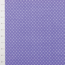 Flawed Lilac Micro Dots Knit Fabric