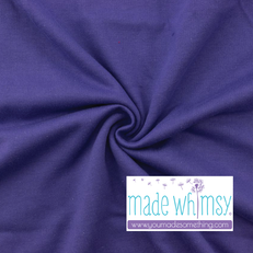 French Terry Purple by Made Whimsy