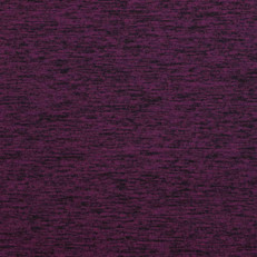 Plum Brushed Poly Athletic Knit