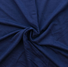 Oxford Blue Rayon/Spandex Knit by Made Whimsy