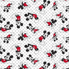 Disney Mickey Mouse Tossed Knit by Springs Creative