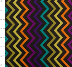 Mini Chic Chevron Jewel by Michael Miller